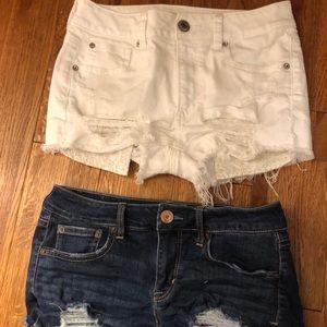 bundle! american eagle shorts
